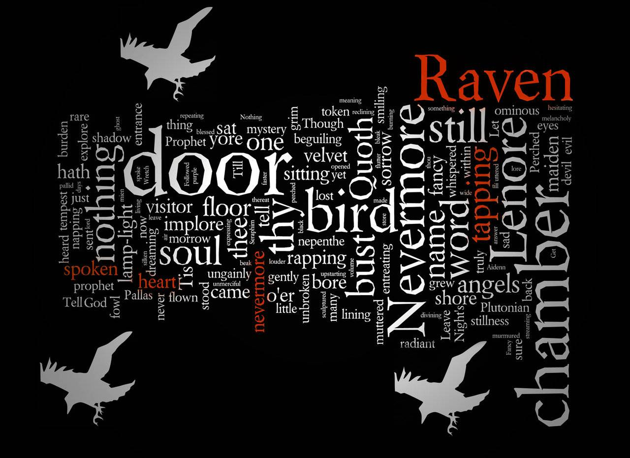 The Raven Wallpaper 5   Edgar Allan Poe Wallpaper 1280x931