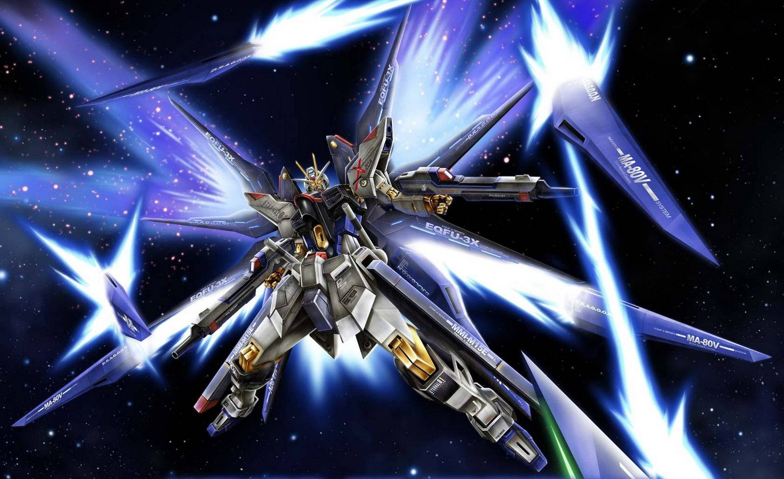 Strike Freedom Gundam   Gundam Seed Wallpaper 1600x977