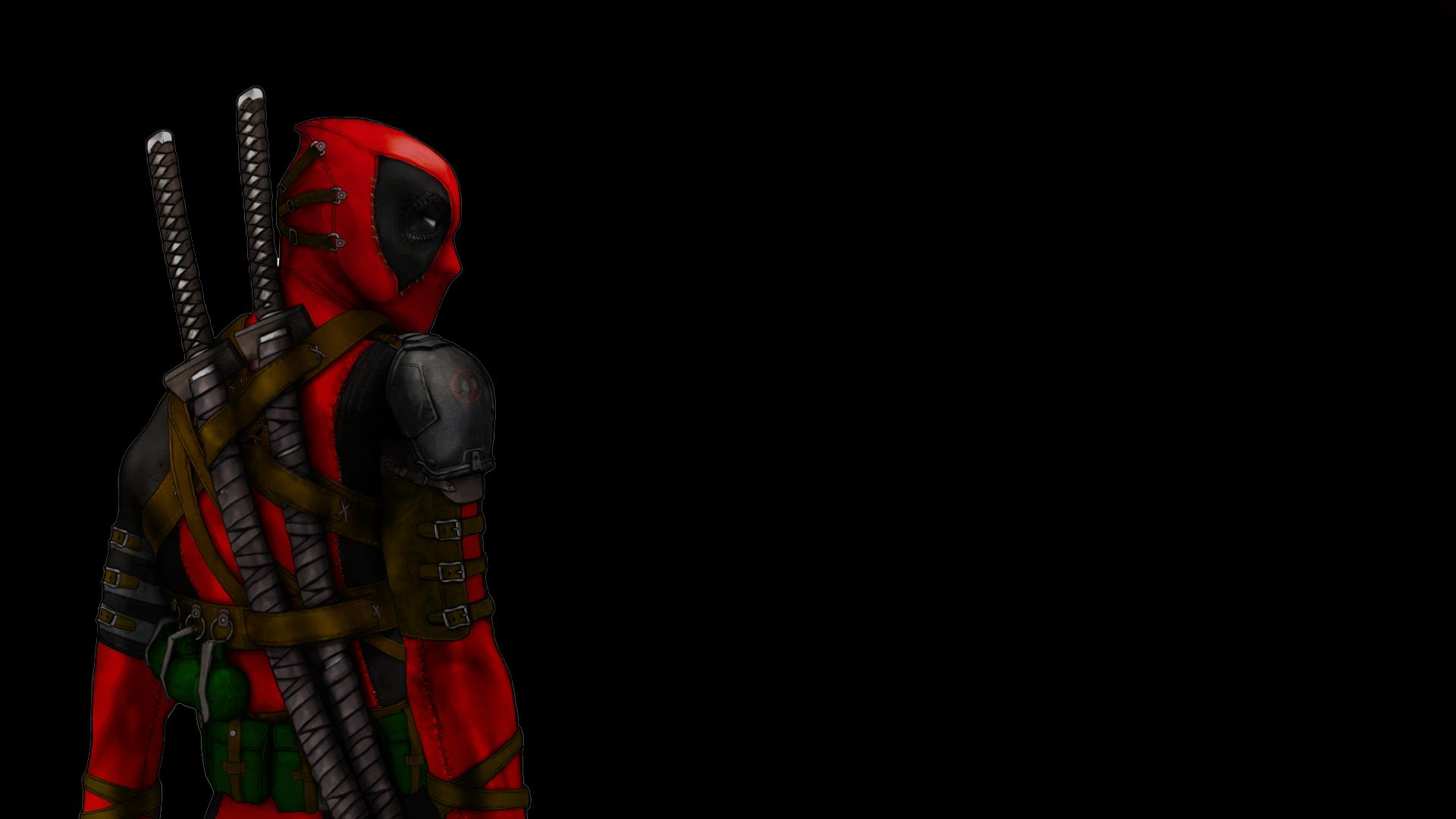 Deadpool With Katana Wallpapers HD 1920x1080