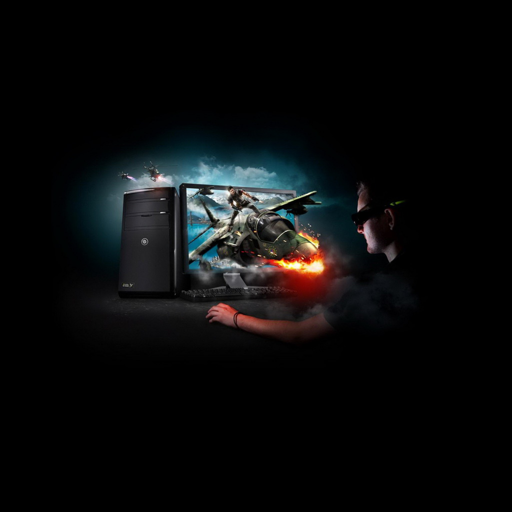 Gaming Pc Wallpaper 41955 Hd Wallpapers Background   HDesktopscom 1024x1024