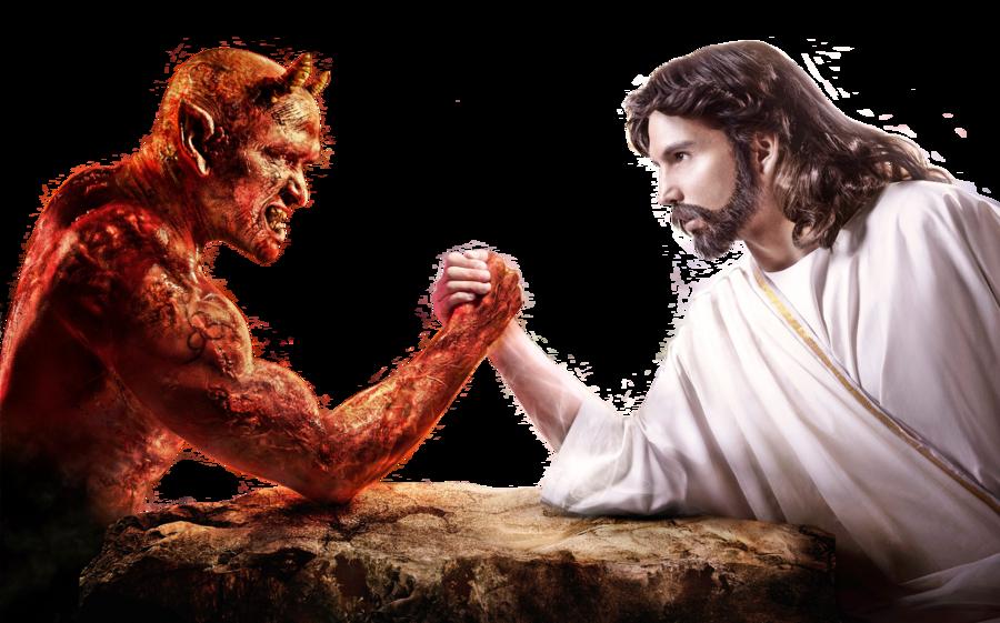 God vs Satan png by Shadow-of-Nemo on DeviantArt
