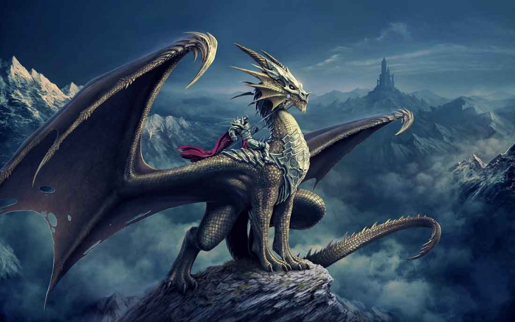 Dragons 3D HD Wallpapers For Desktop 1024x640
