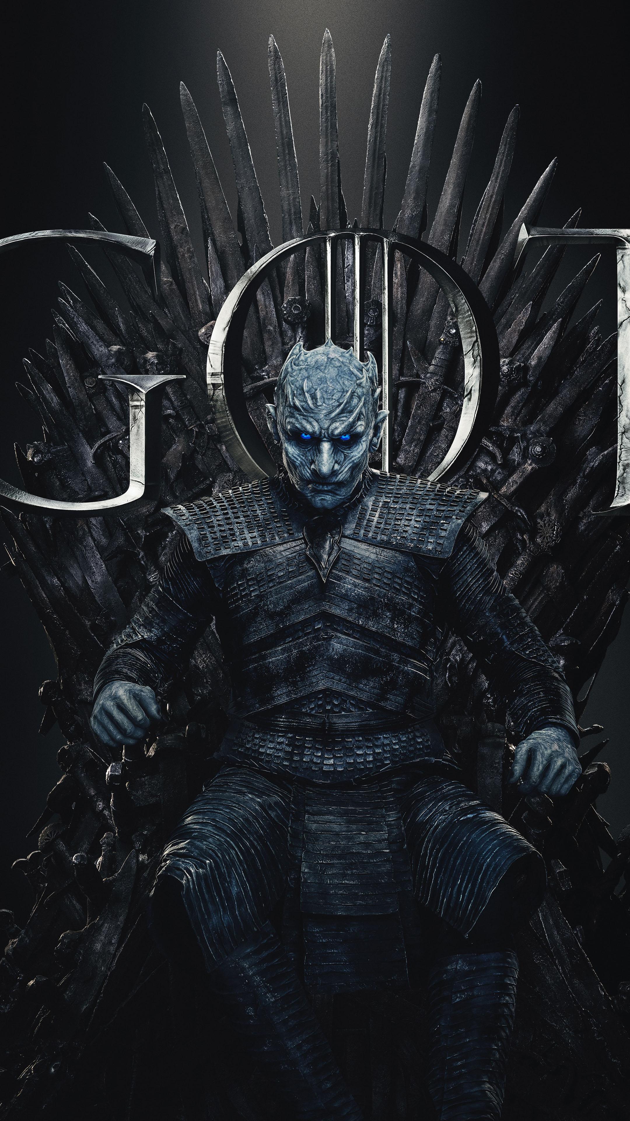 Download Night King Game of Thrones Season 8 Pure 4K Ultra HD 2160x3840