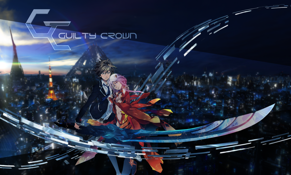 Guilty Crown by MoonScarf7 on deviantART 1152x694