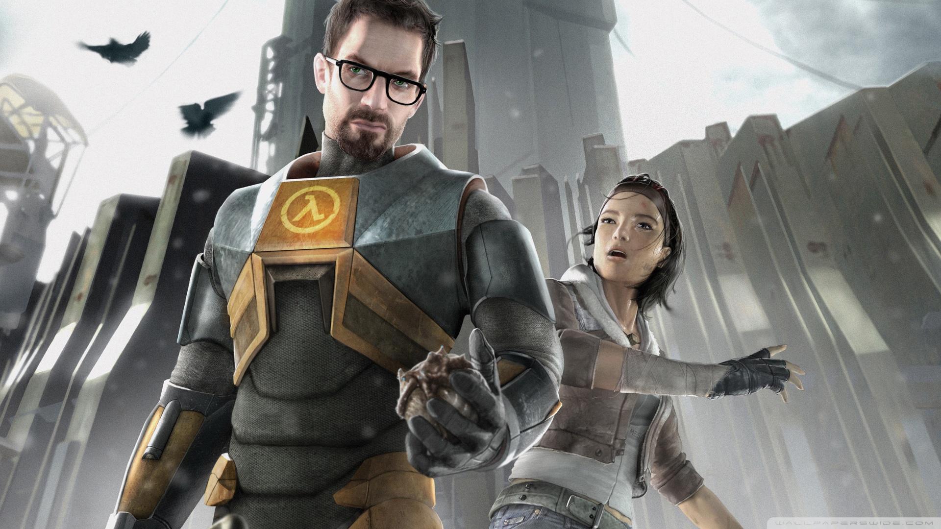 Download Half Life 2 Gordon And Alyx Wallpaper 1920x1080 1920x1080