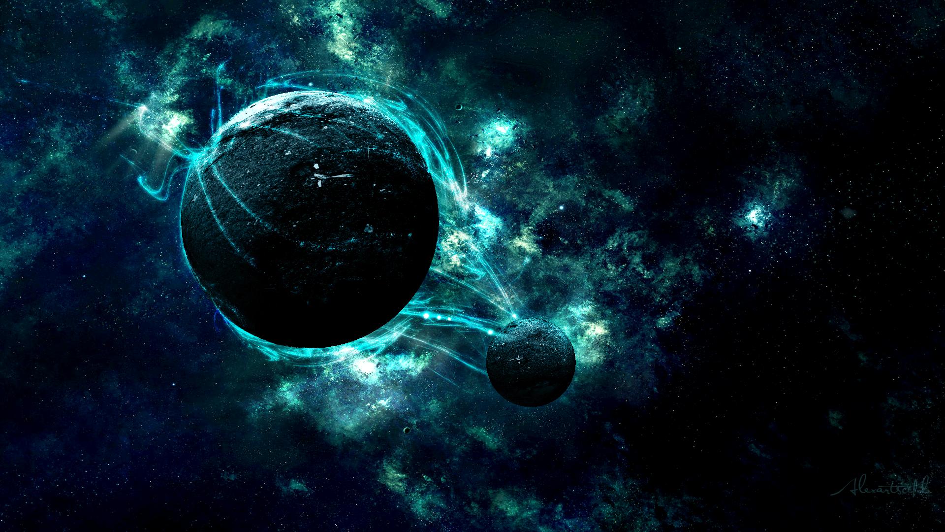 planet nebula wallpaper by alexartsc4d customization wallpaper mac pc 1920x1080