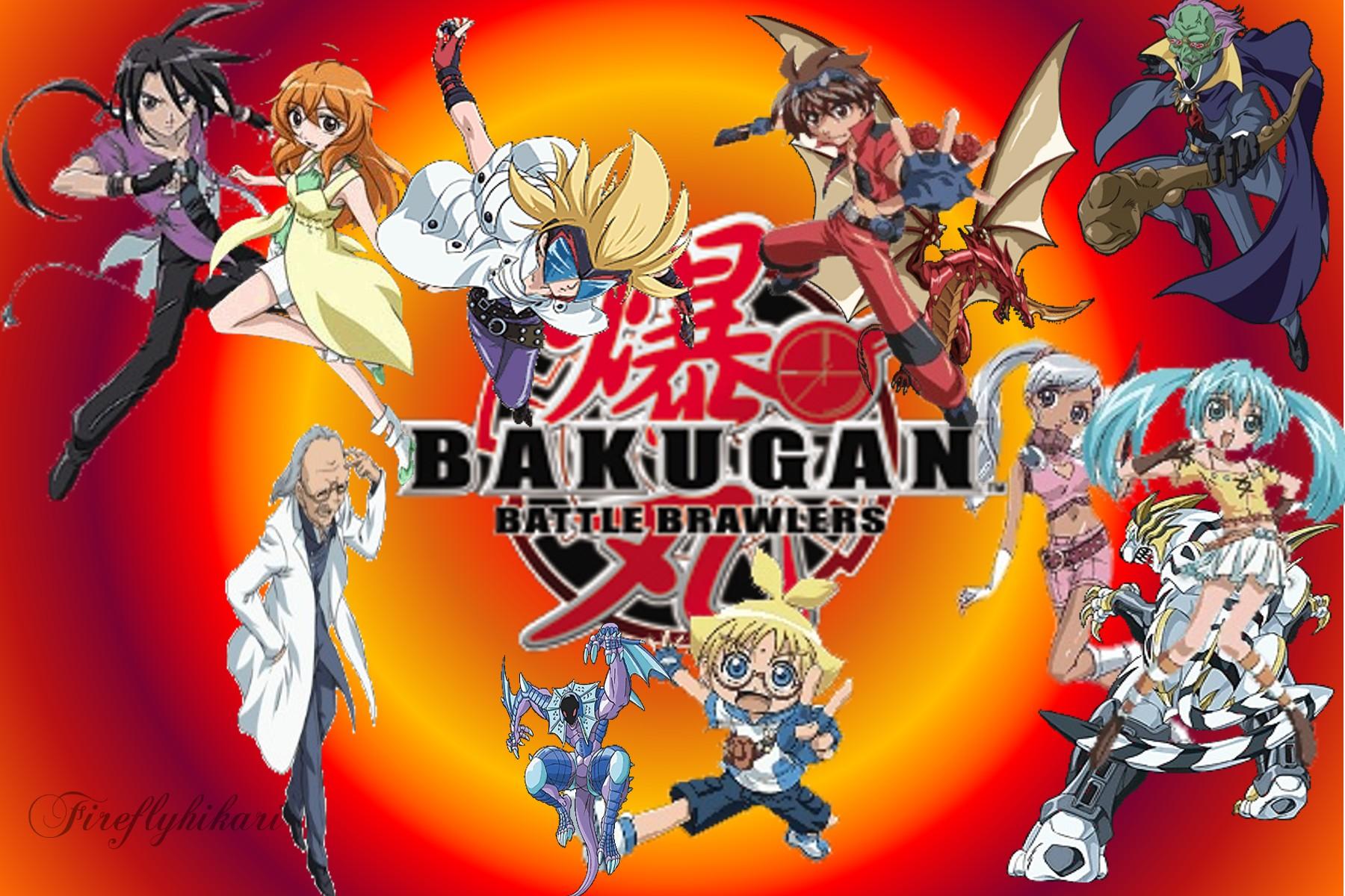 bakugan wallpaper desktop wallpapersafari