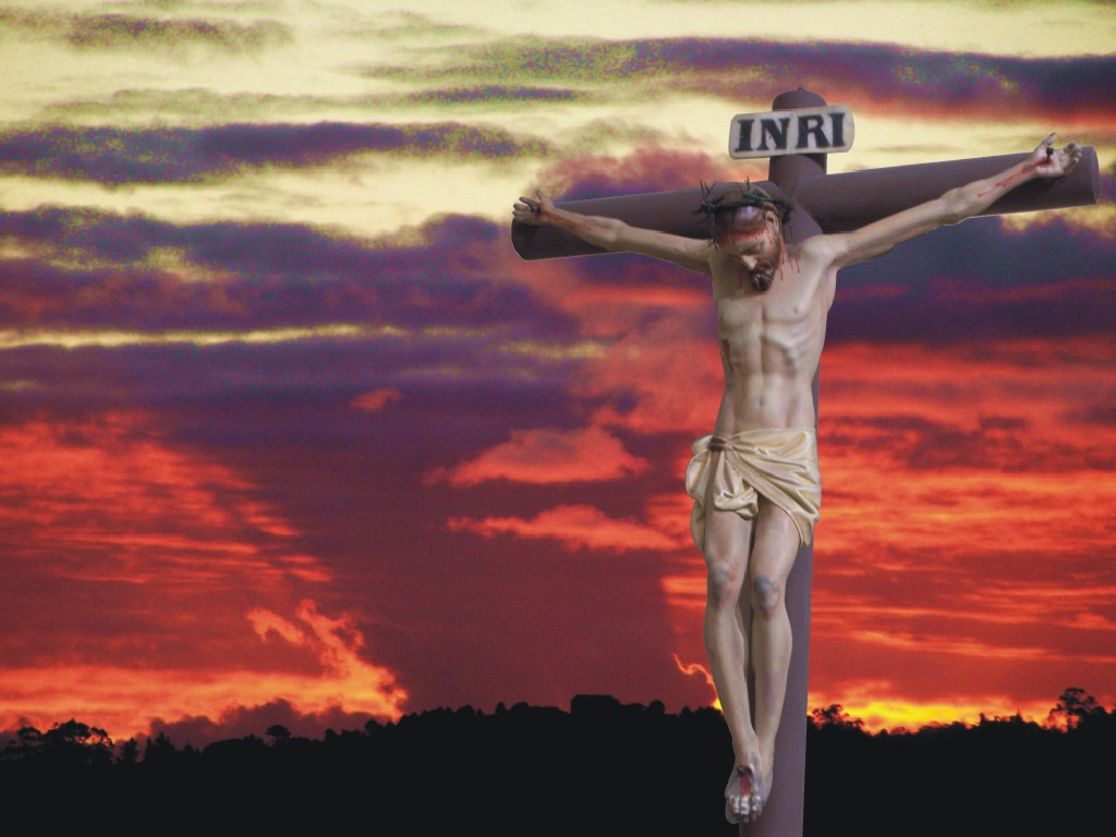 Jesus Christ Crucifixion Wallpapers Download Desktop Background 1024x768