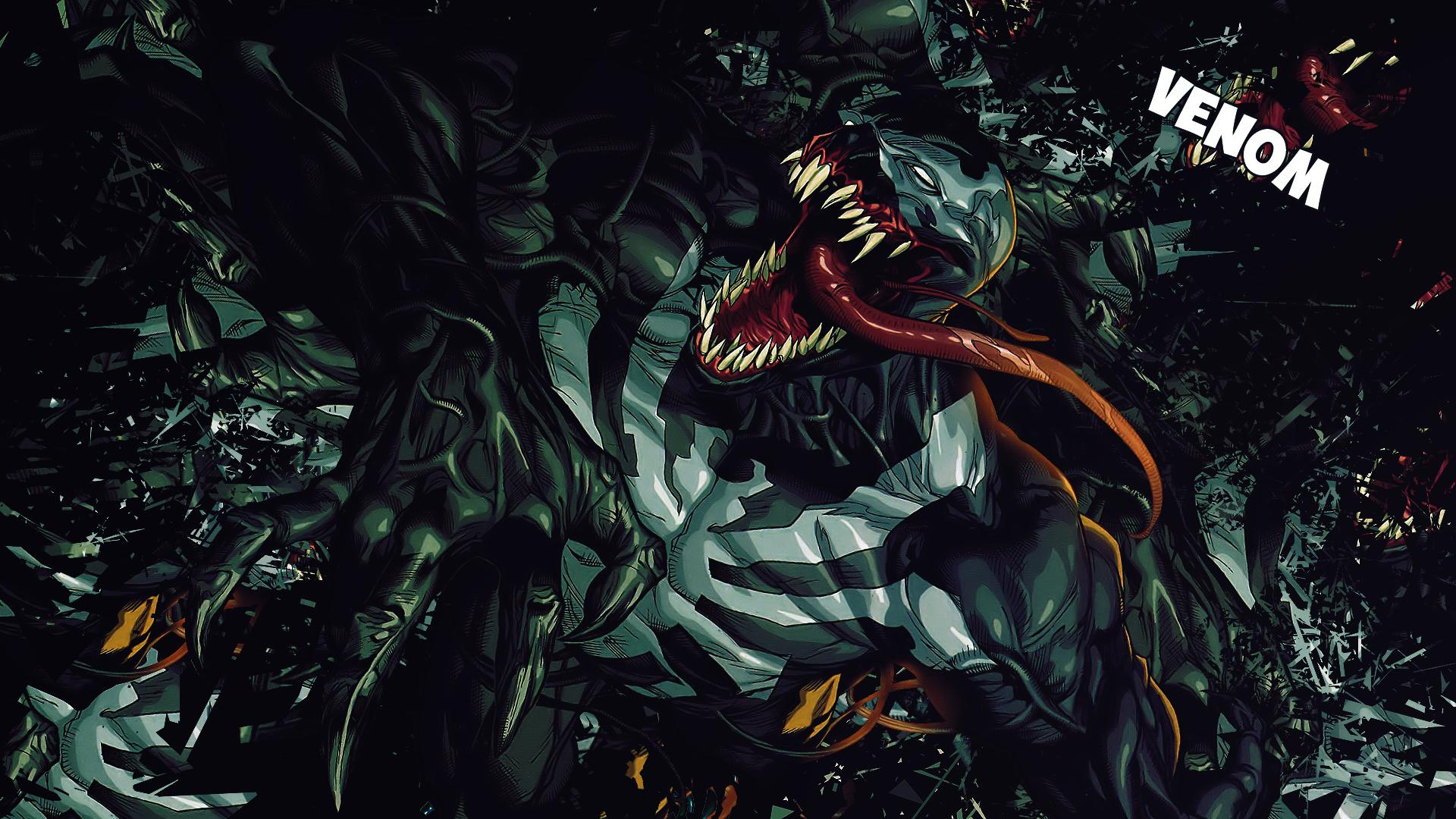 Pics Photos   Venom Wallpaper 1920x1080