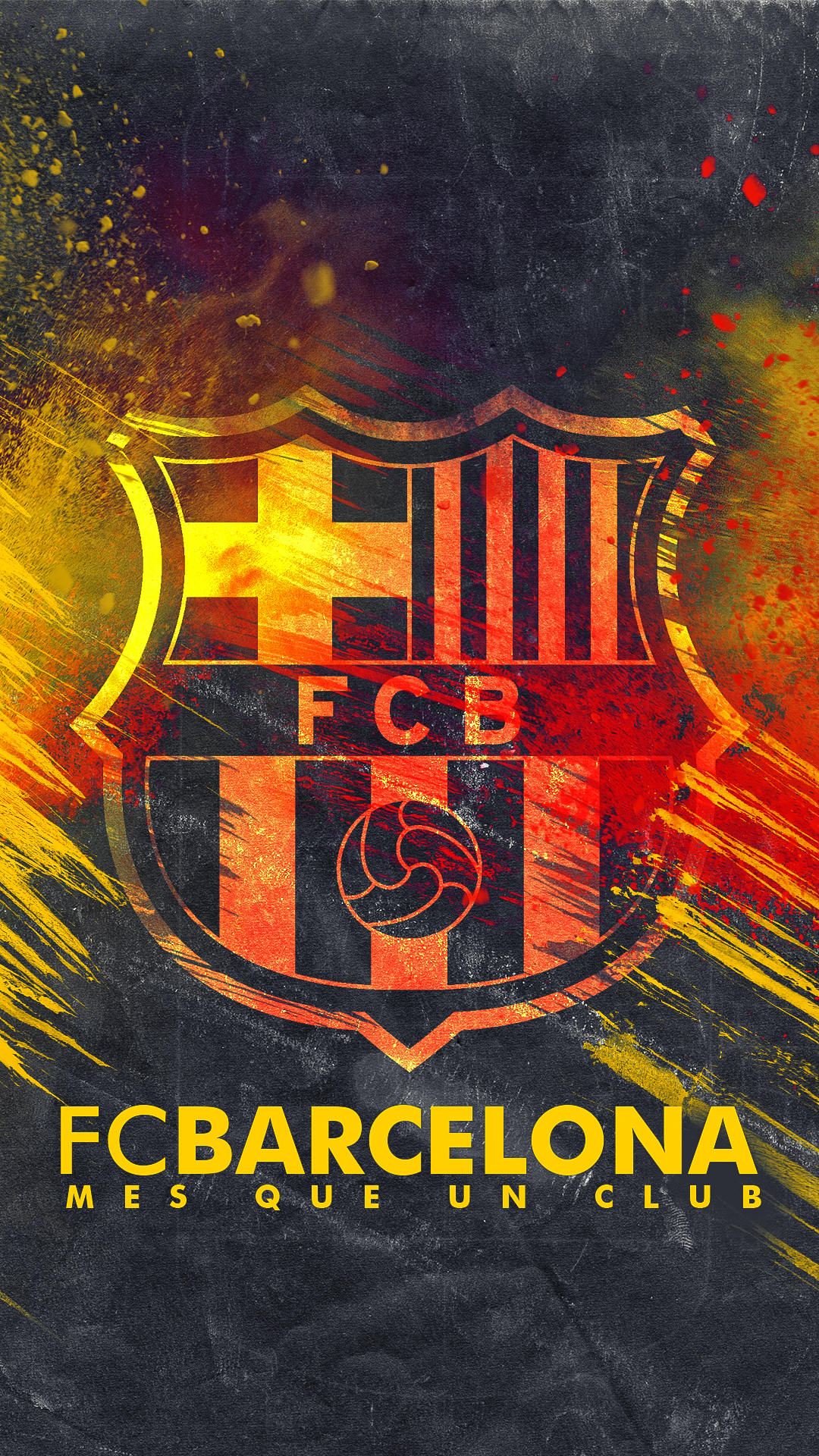 Barcelona   HD Logo Wallpaper by Kerimov23 1080x1920
