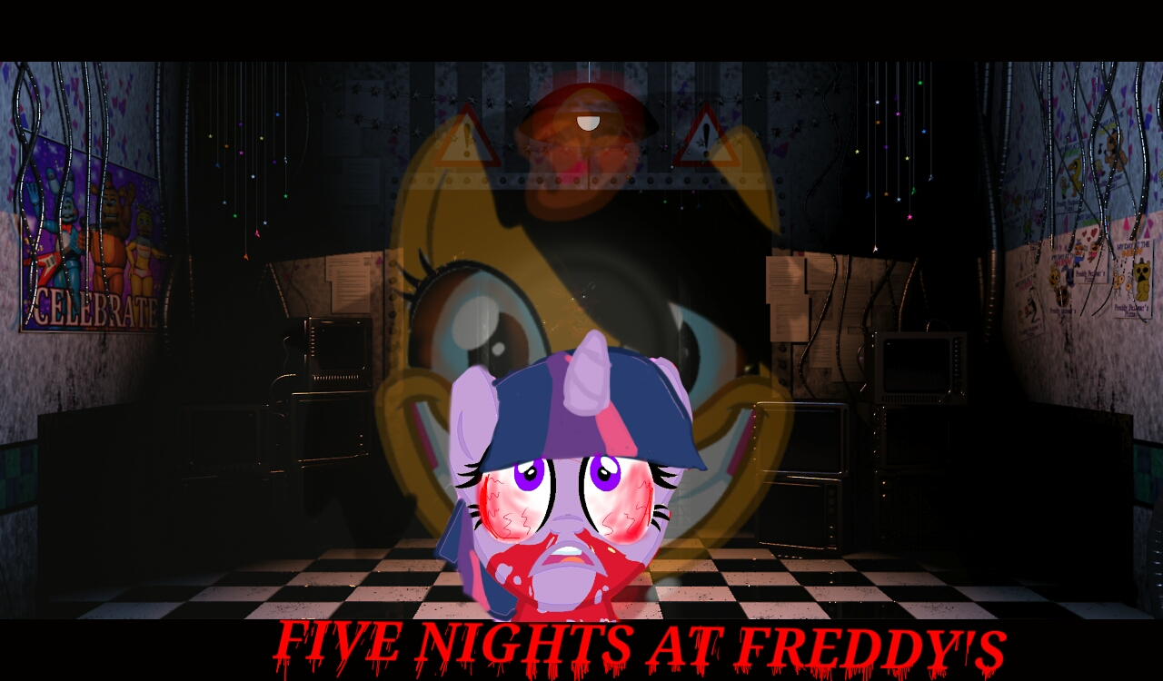 FNAF MLP Wallpaper 2 by TheMagicNacos 1280x750