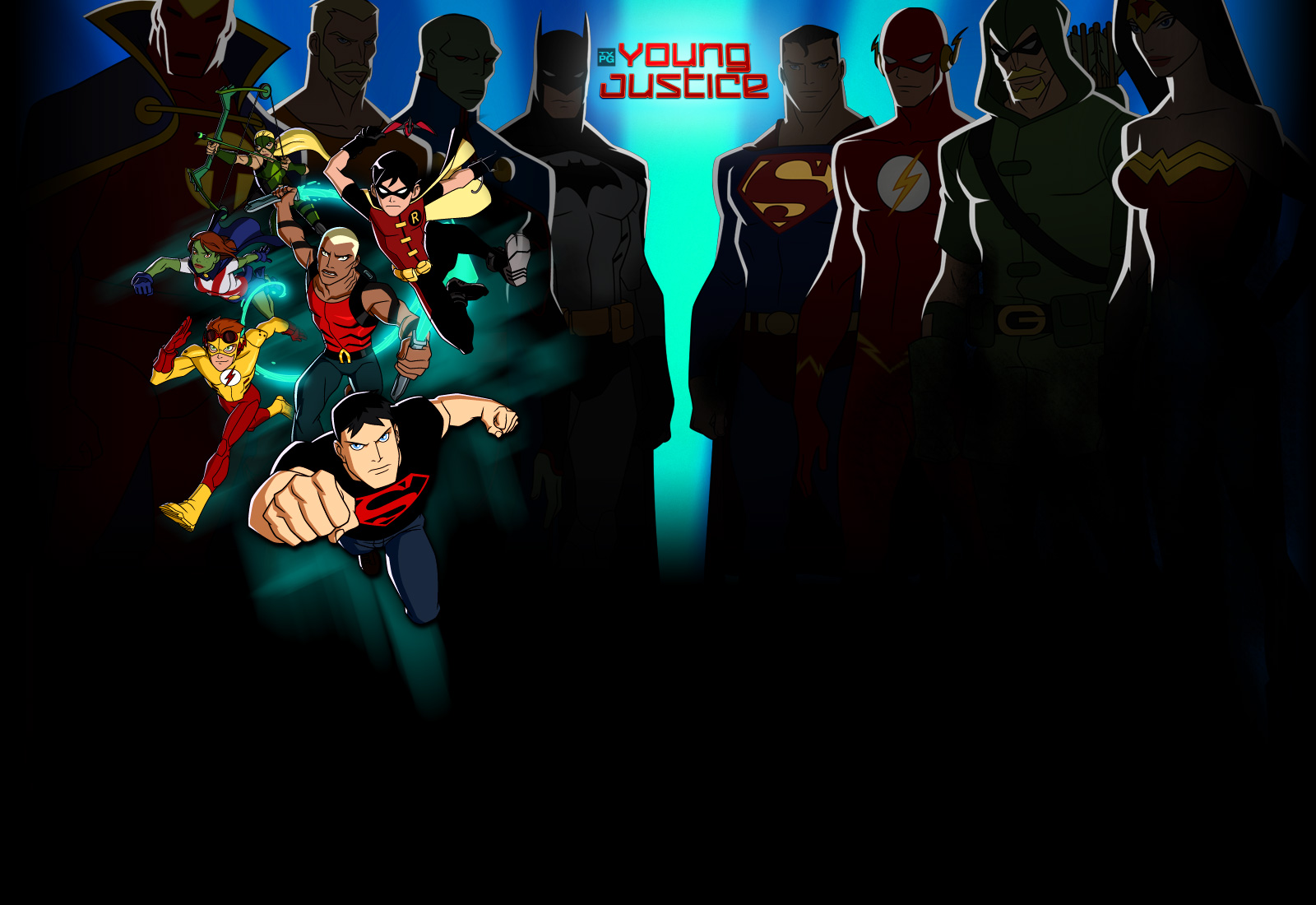 Young Justice animated series Please click on each image for a closer 1600x1100