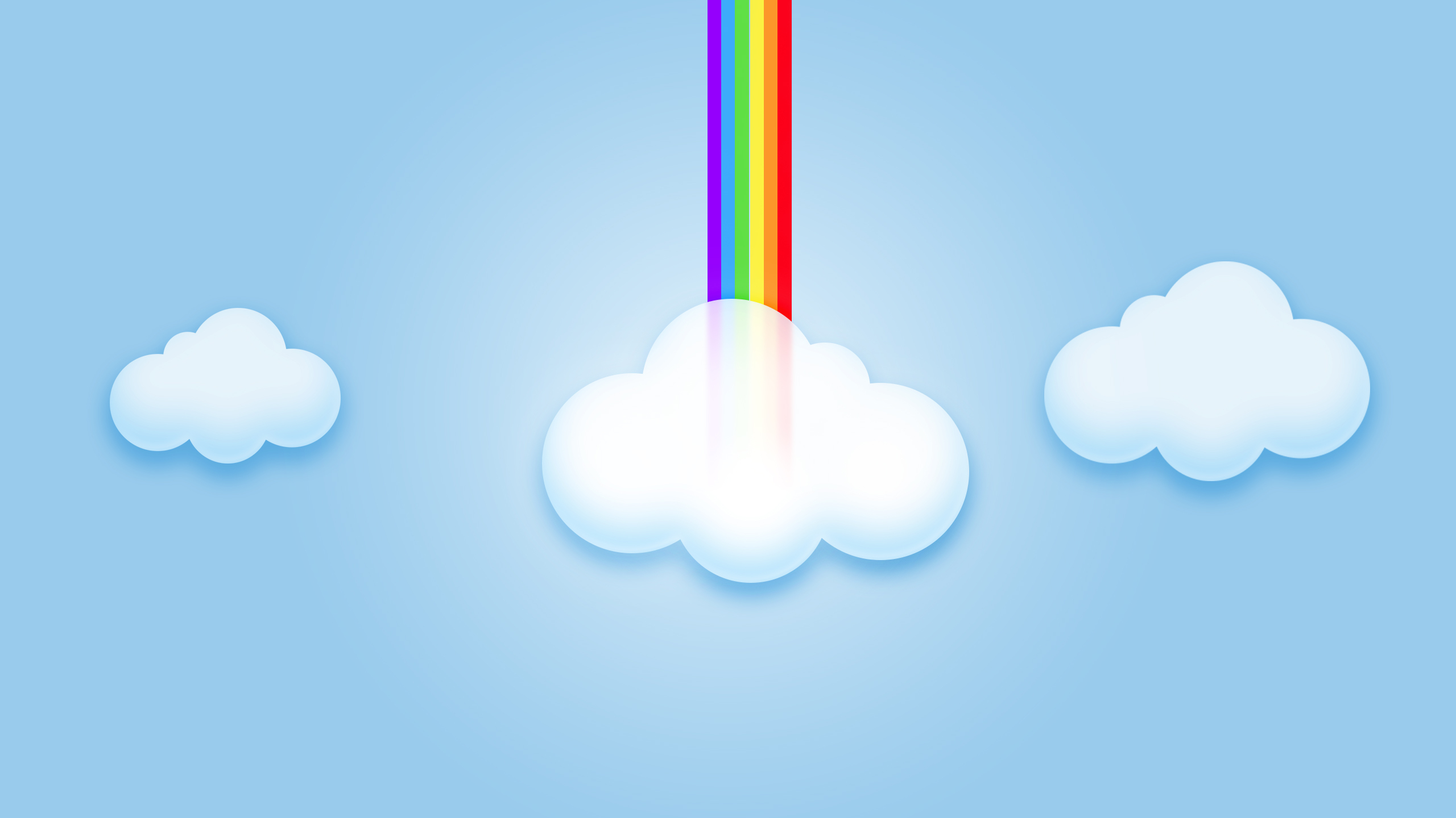Abstract Rainbow Clouds HD Wallpapers 2560x1440