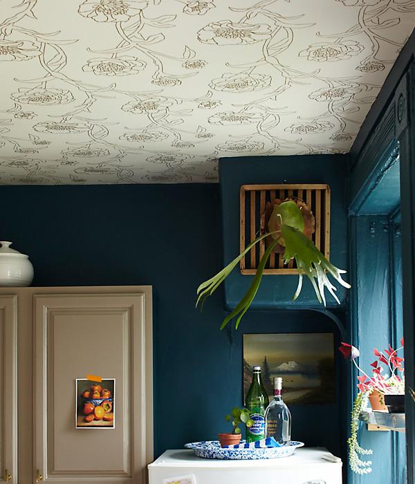 Design Trend Wallpaper Featured On The Ceiling2014 interior Design 600x700
