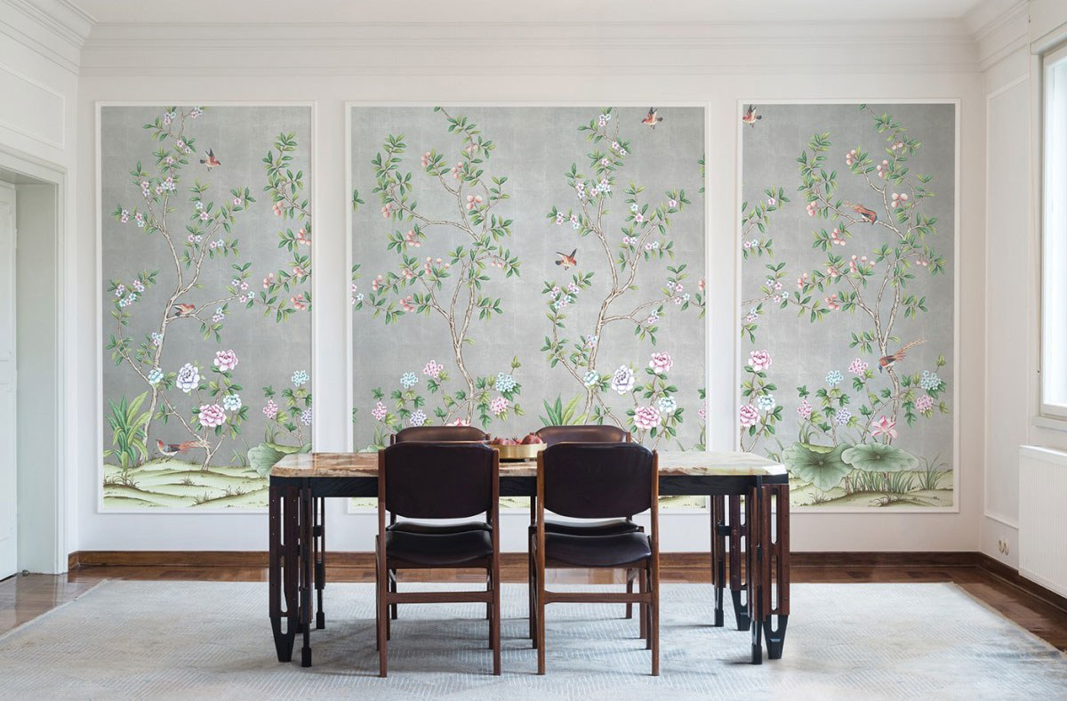 Affordable Temporary Chinoiserie Wallpaper   Vogue 1200x788