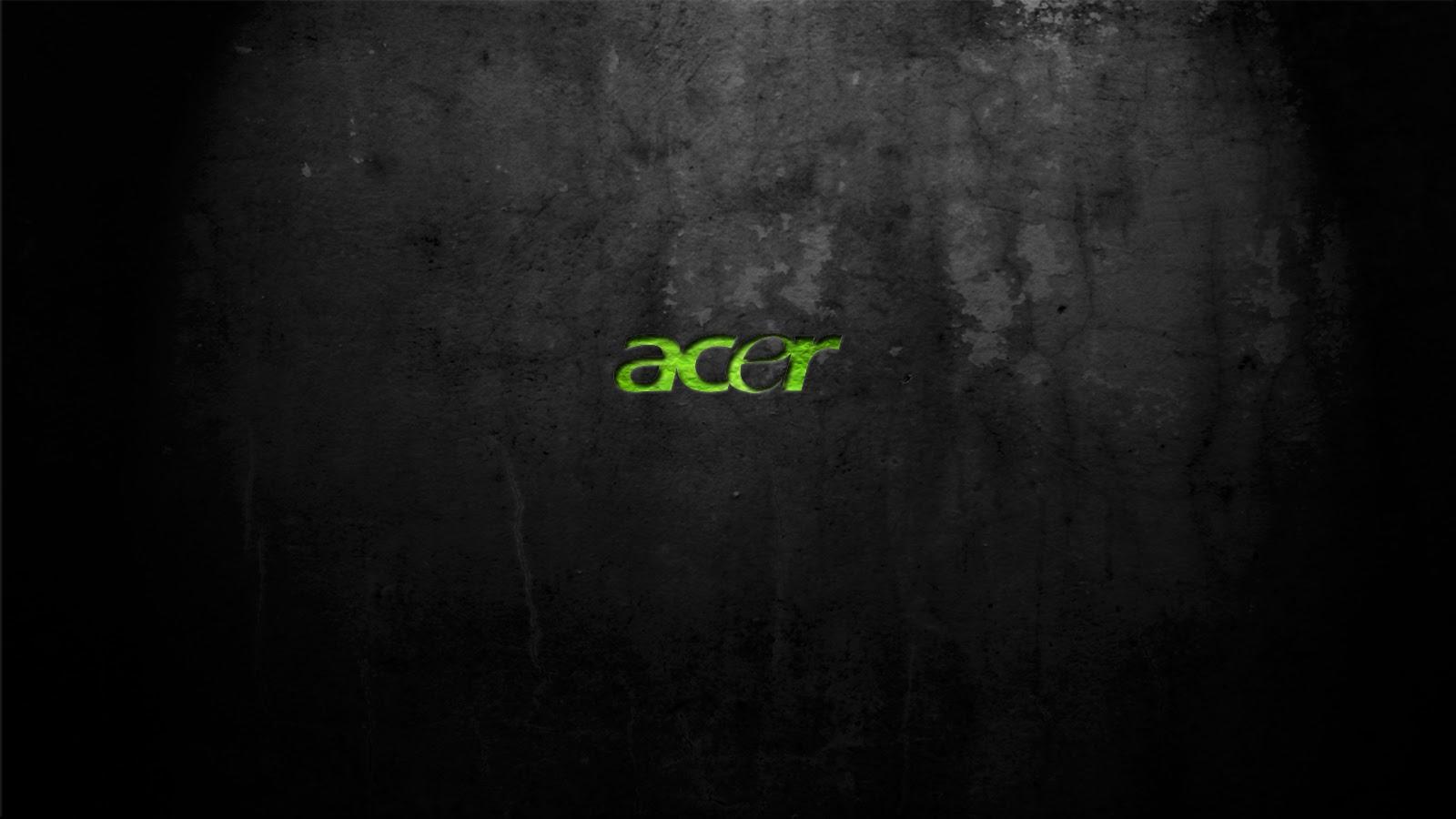 Acer Logo Computer HD Wallpaper Dark Backgroundjpg 1600x900