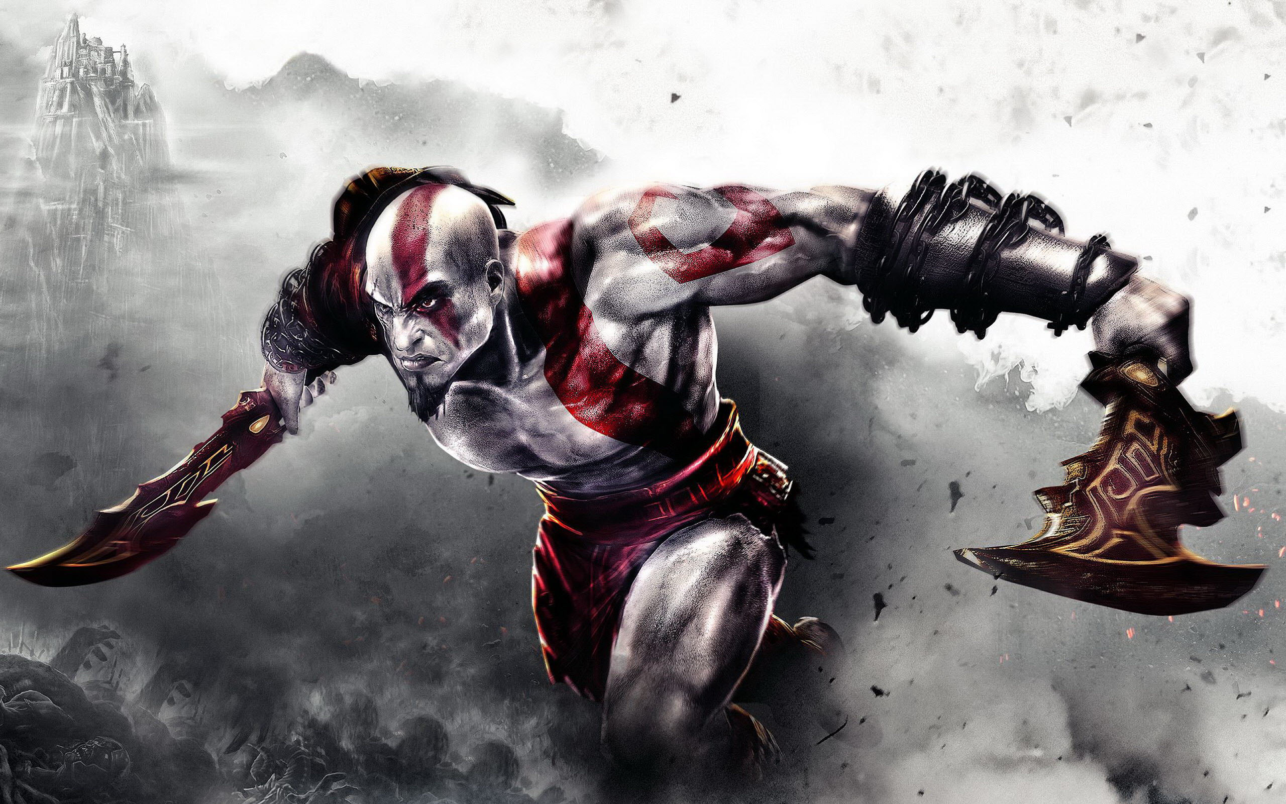 God of War 3 Game Wallpapers HD Wallpapers 2560x1600