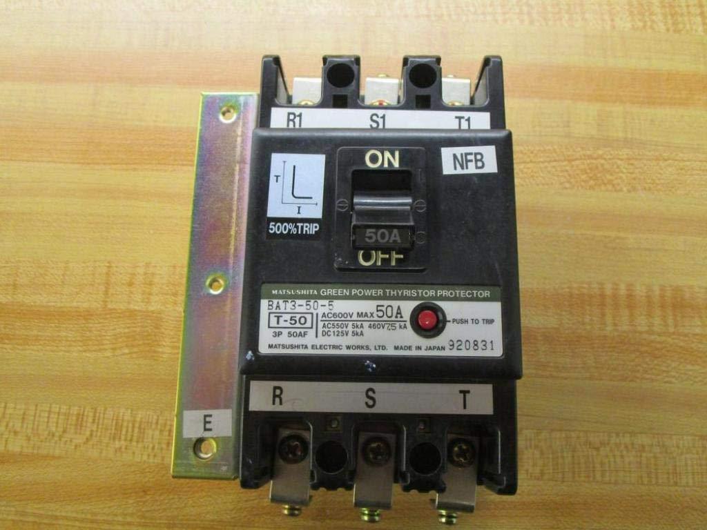 Matsushita BAT3 50 5 Circuit Breaker BAT3505 Amazoncom 1024x768