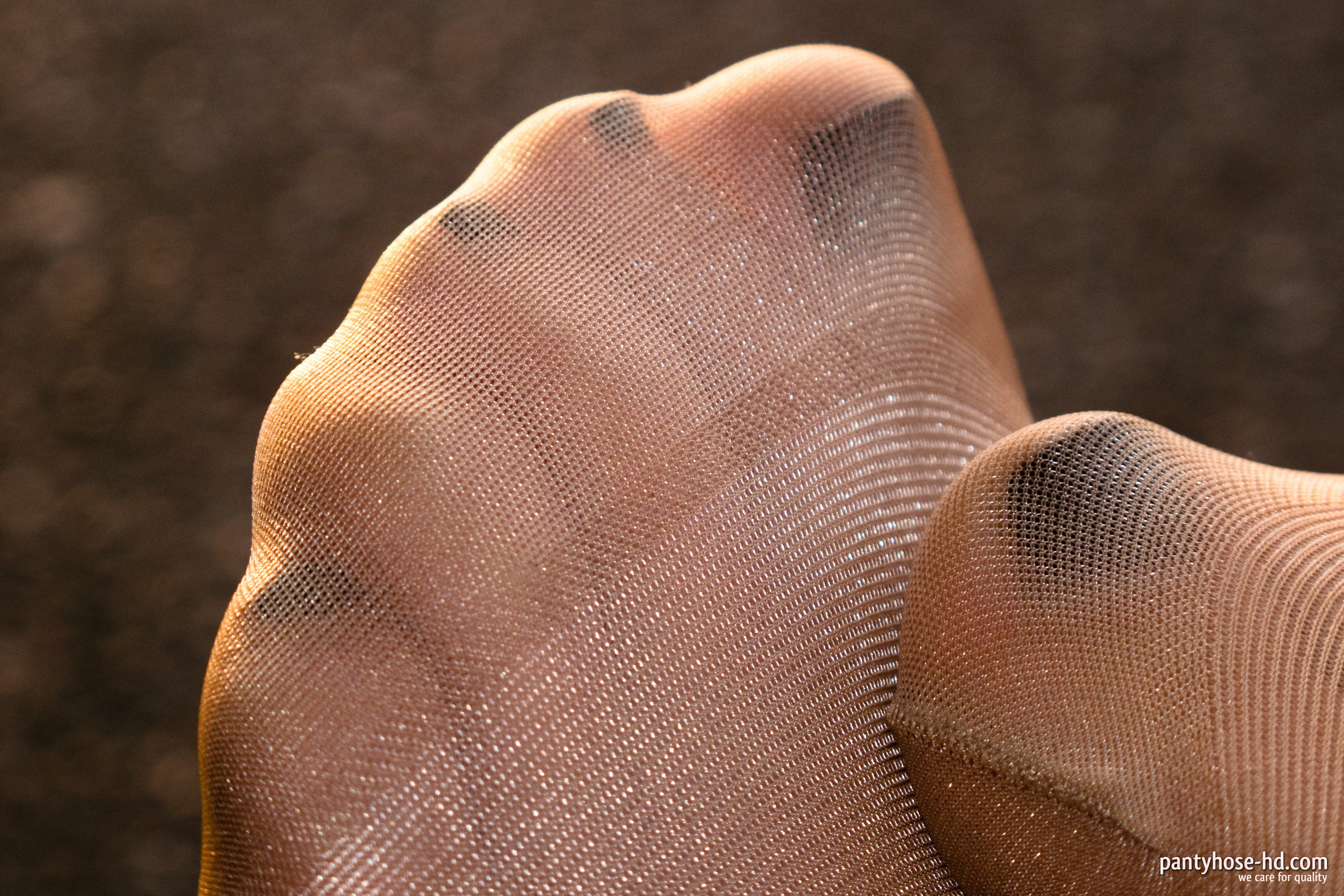 Sexy pantyhose feet close up consider, that