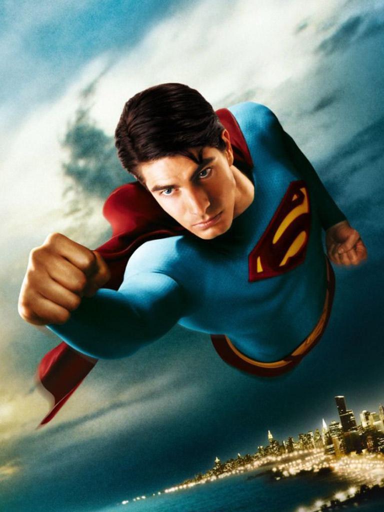 MoviesTV   Superman Returns   iPad iPhone HD Wallpaper 768x1024