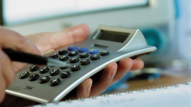 Wallpaper hand pen calculator calculations HD 640x360