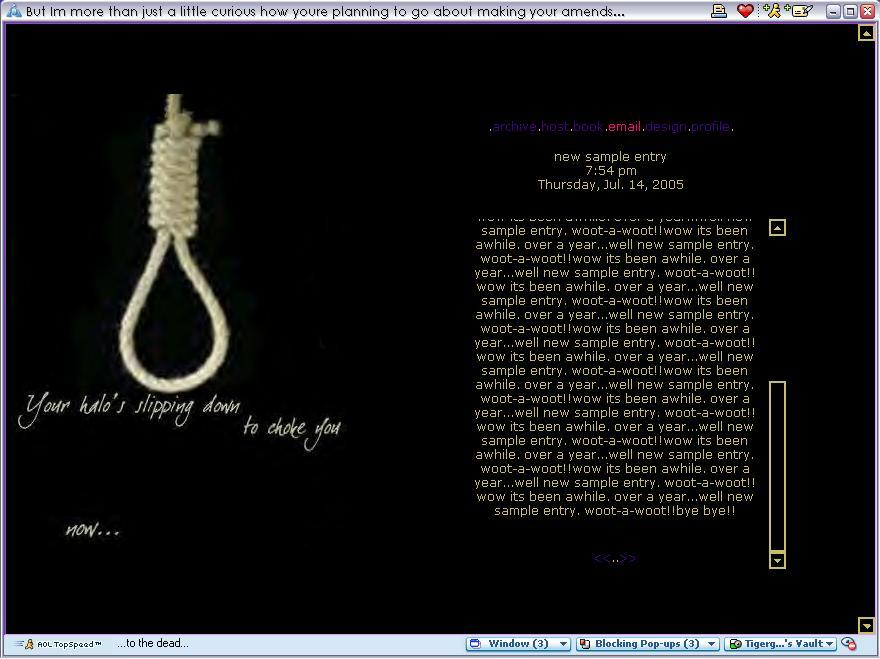 Perfect Circle Lyrics Wallpaper the noose a perfect circle by 880x659