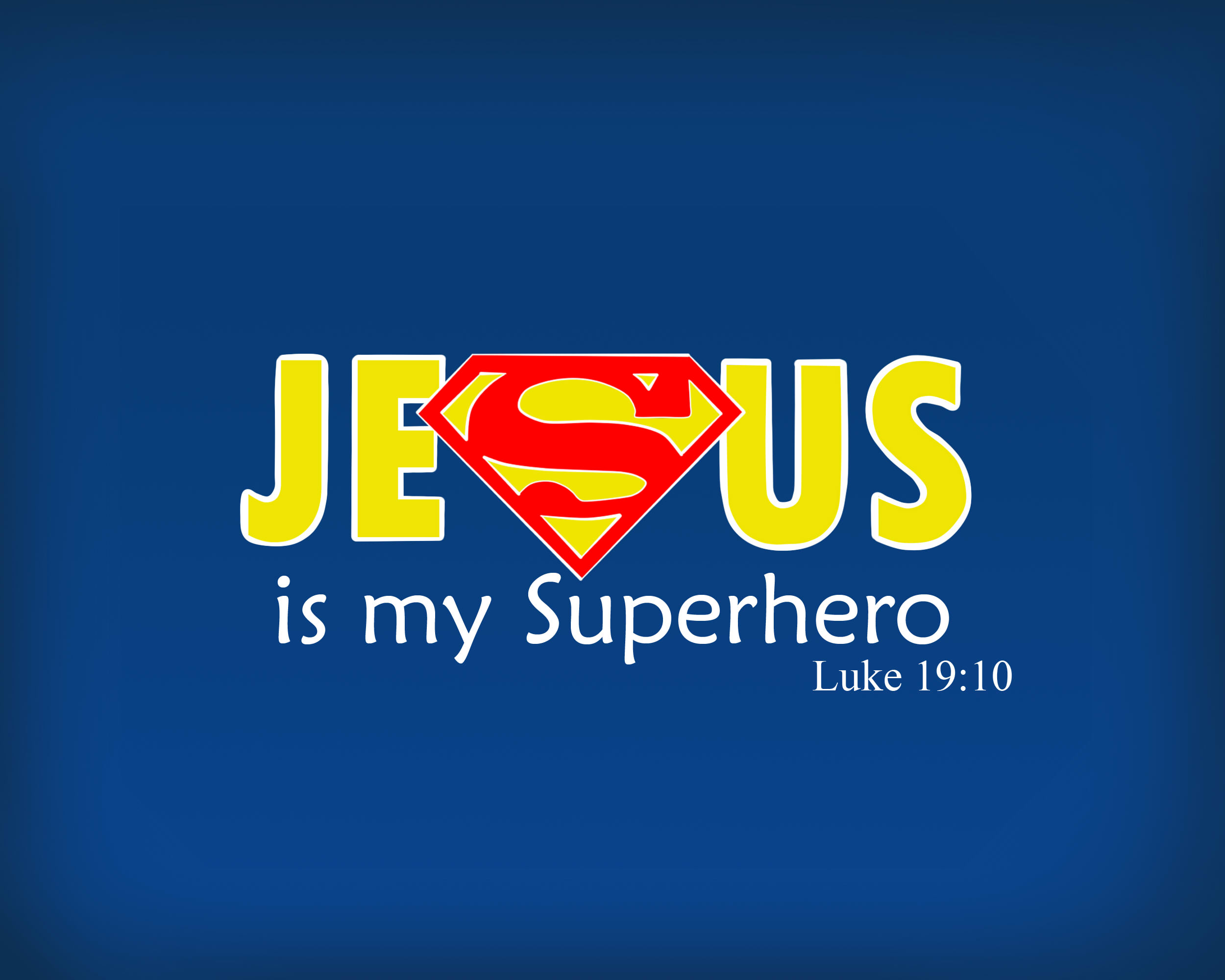 Jesus Is My Superhero by NyandrewB 2500x2000