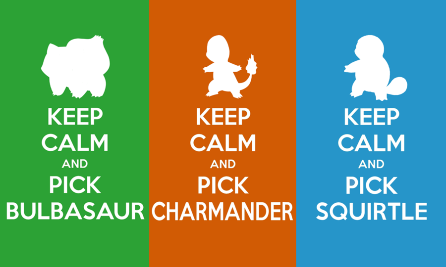 Keep Calm and Pick a Starter Wallpaper by SlamTackle 900x540