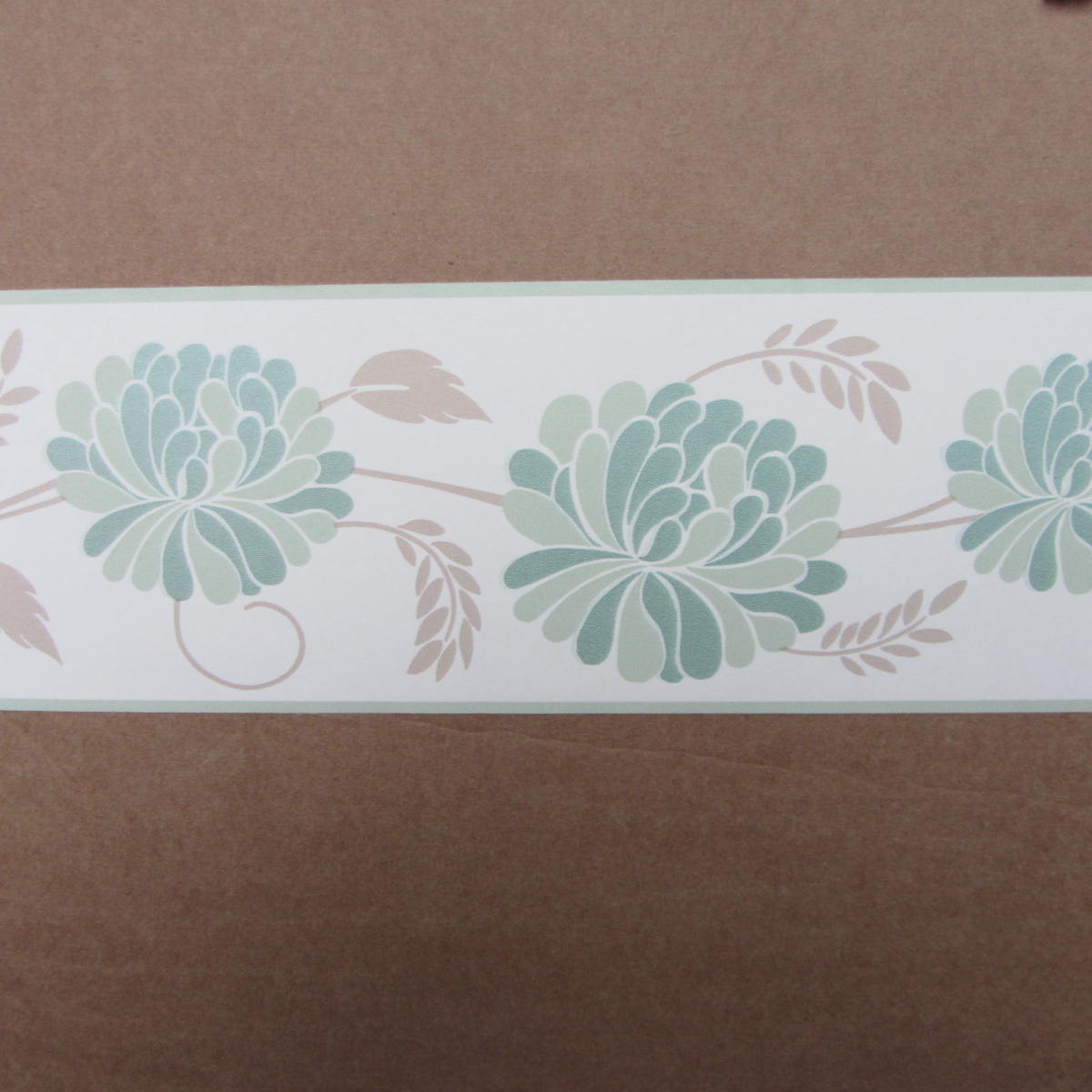 Free Download Oriental Trail Green Wallpaper Border Self Adhesive