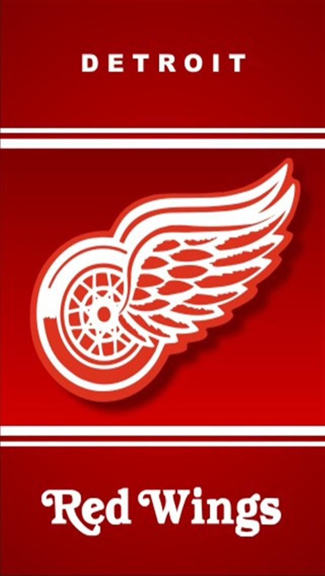 Detroit Red Wings Sports iPhone Wallpapers iPhone 5s4s3G 640x1136