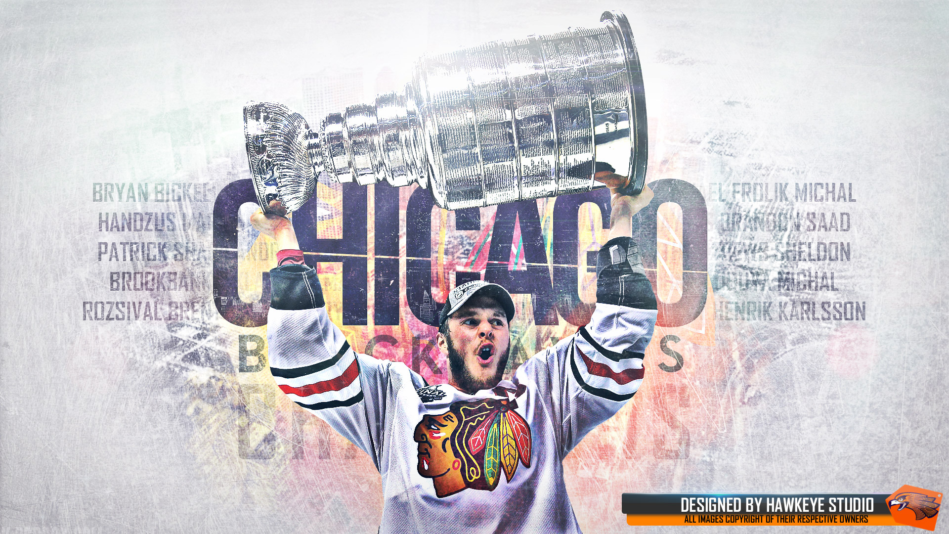 Wallpapers   Chicago Blackhawks 2013 NHL Champions 1920x1080 wallpaper 1920x1080