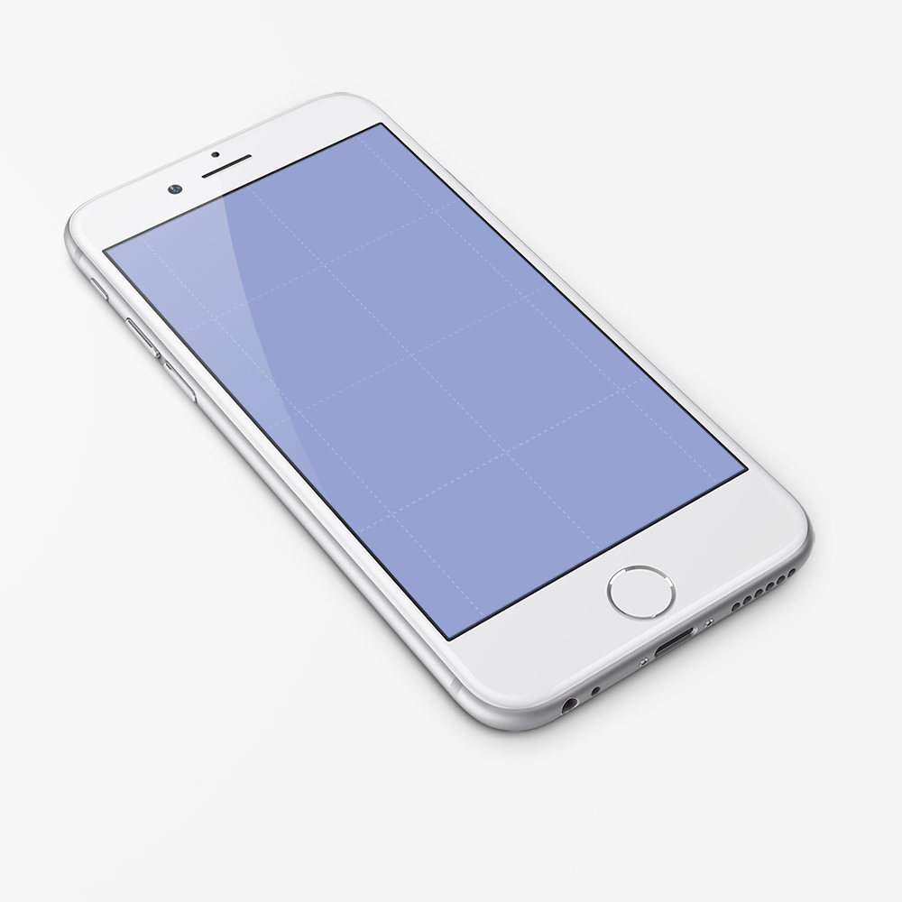 iPhone 6 Wallpaper Template PSD - WallpaperSafari