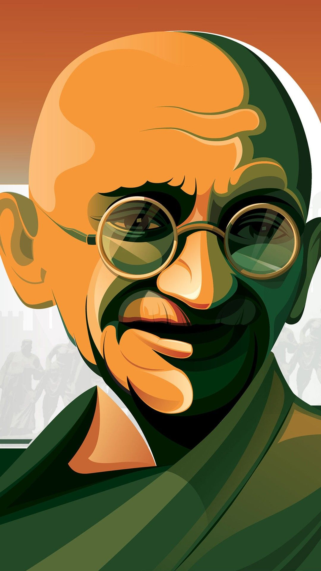 45 Ghandi iPhone Wallpapers   Download at WallpaperBro 1080x1920