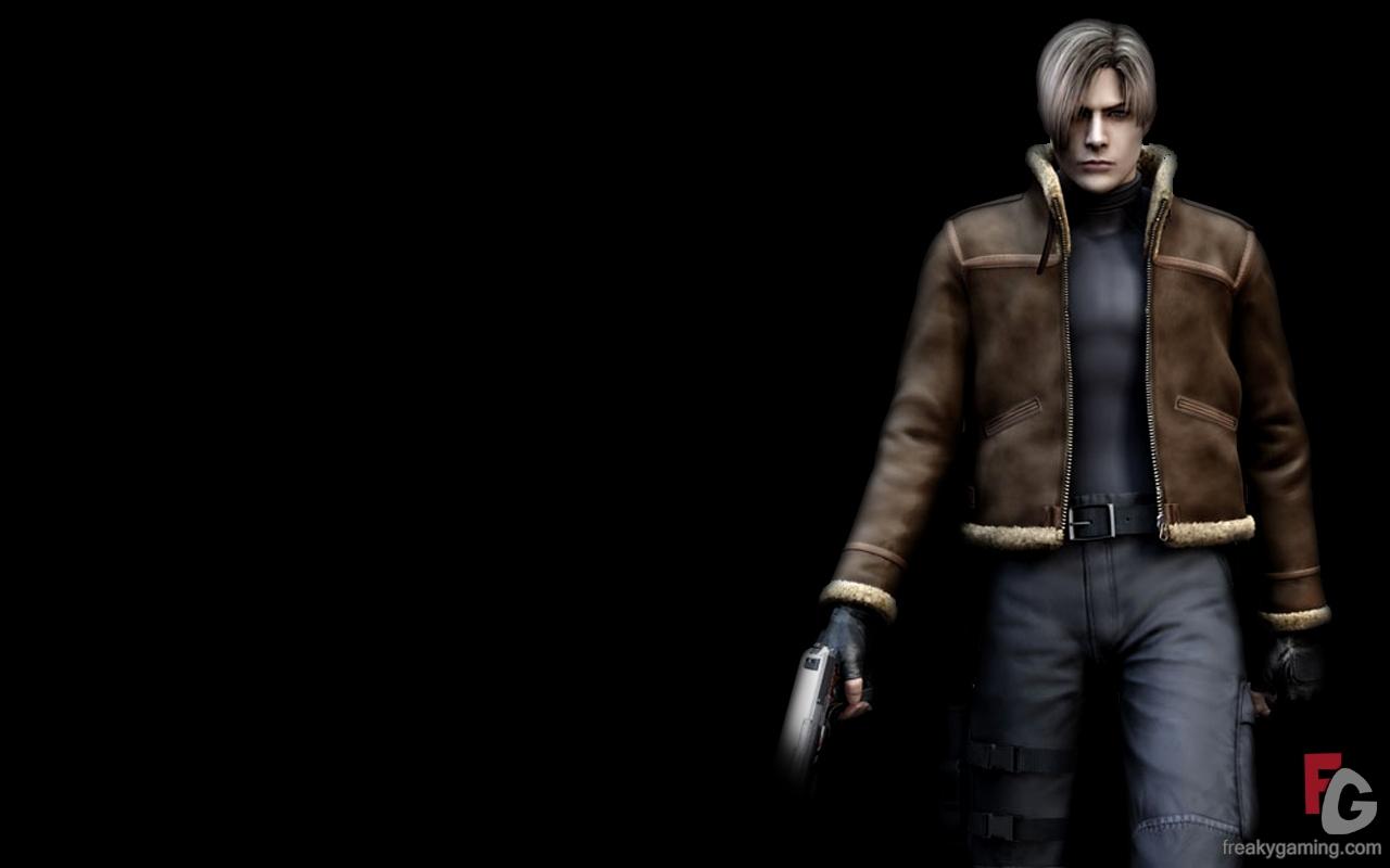 Resident Evil 4 Leon Wallpaper