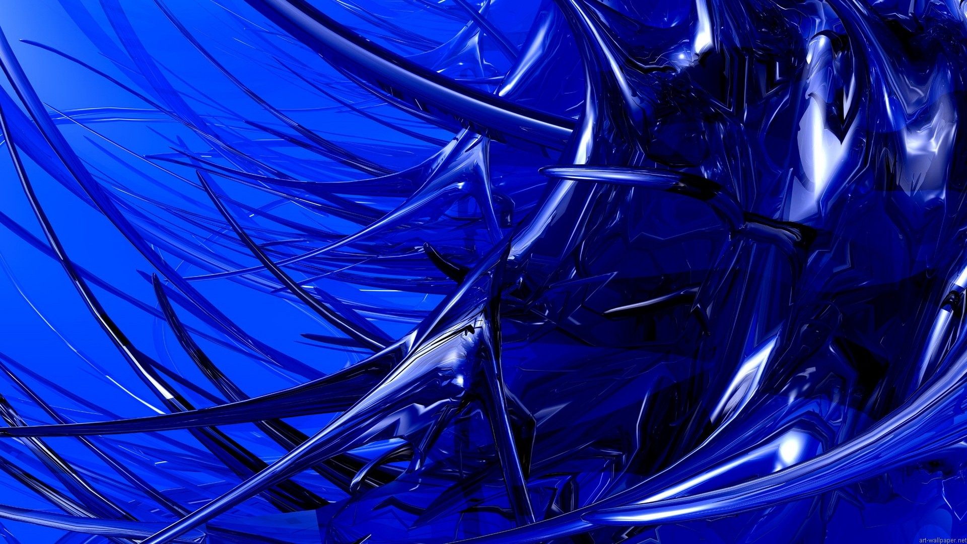 Pics Photos   Abstract Blue Dark Wallpaper Vector 1920x1080