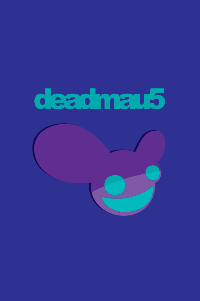 Download music wallpaper Deadmau5 with size 640x960 pixels for 640x960
