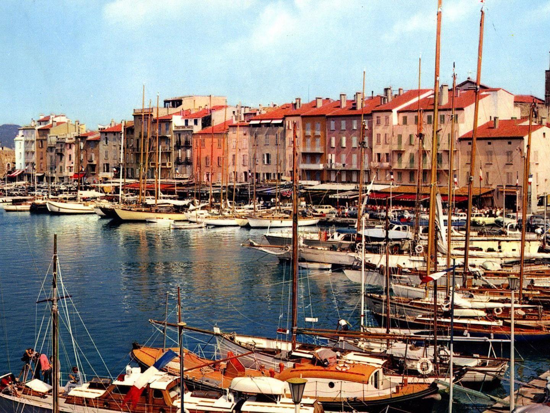 Harbor Marina In St Tropez France HD desktop wallpaper 1440x1080