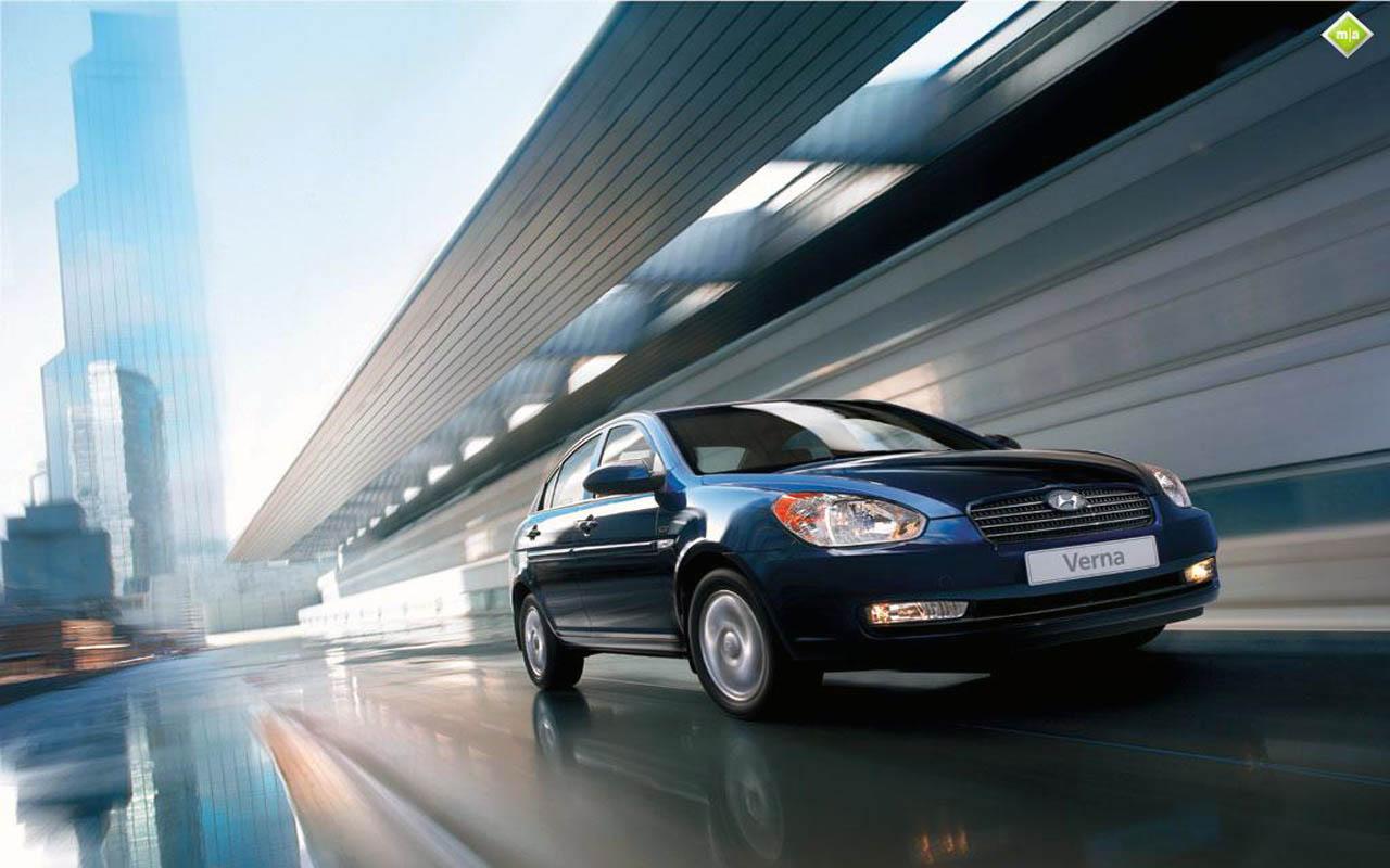 Hyundai Verna On Road   Car Pictures Images GaddiDekhocom 1280x800