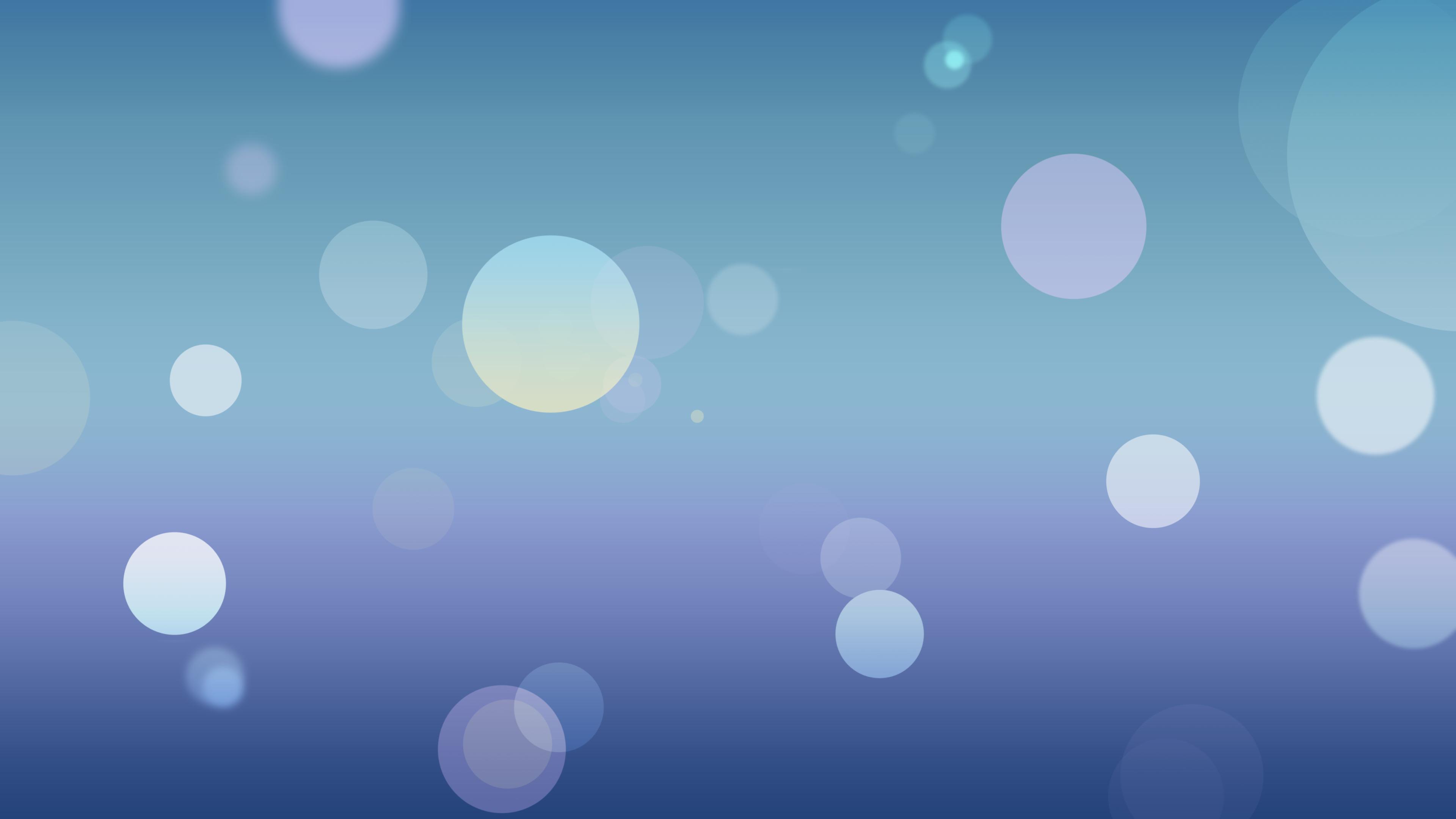 ios 7 style desktop wallpaper 3840x2160