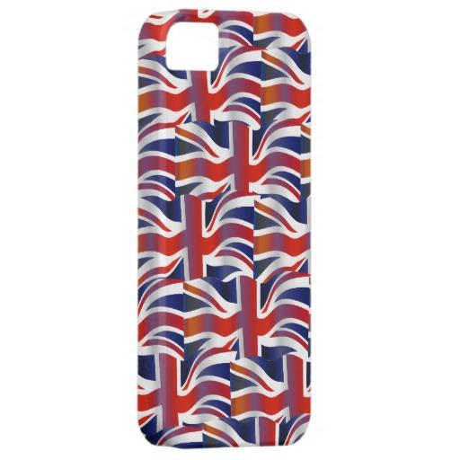 UK Wavy Flag Wallpaper iPhone 5 Cases Zazzle 512x512