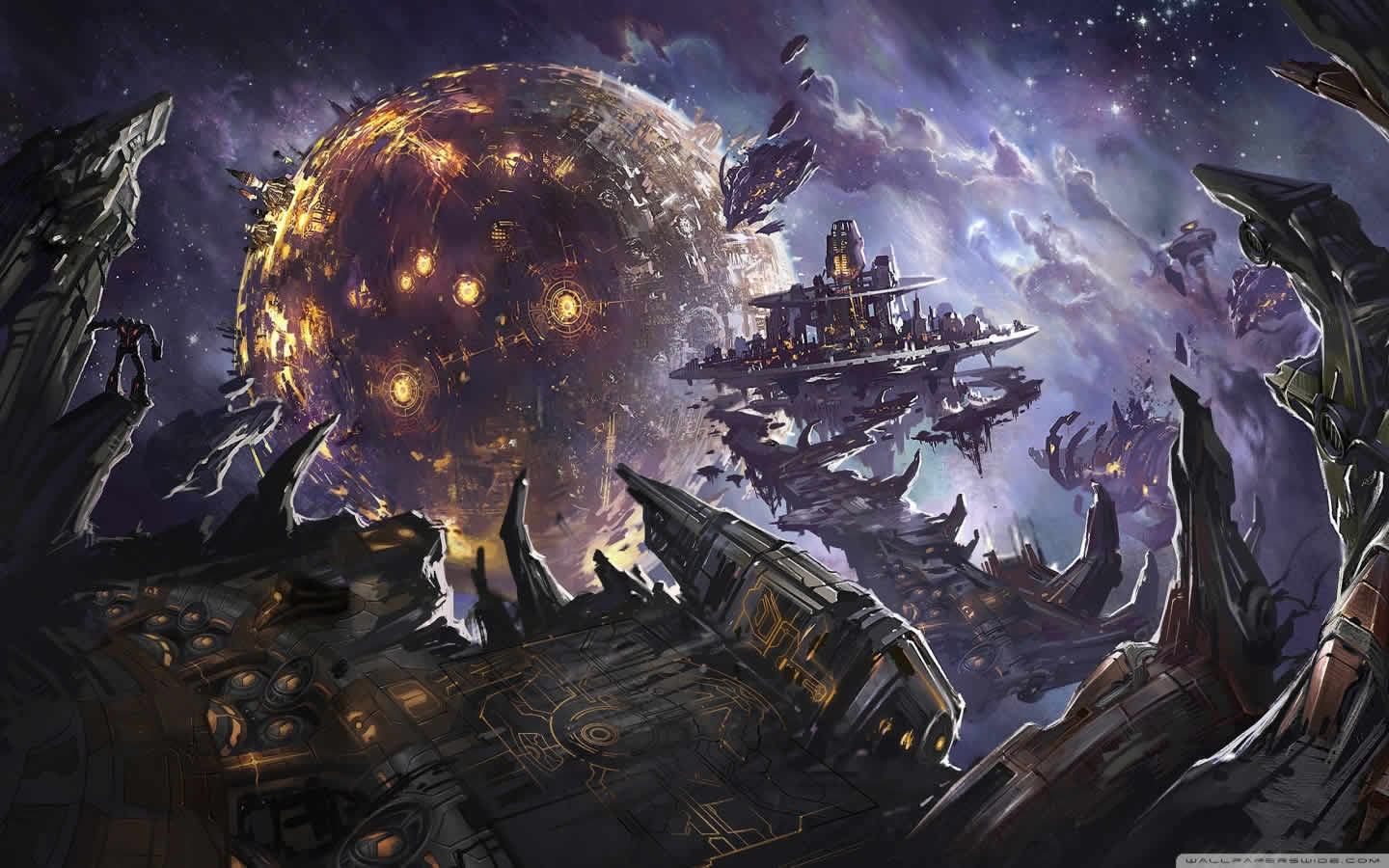 Fall Of Cybertron Wallpapers 1440x900