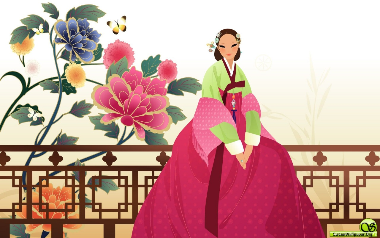 Wallpaper Korea woman 1280x800