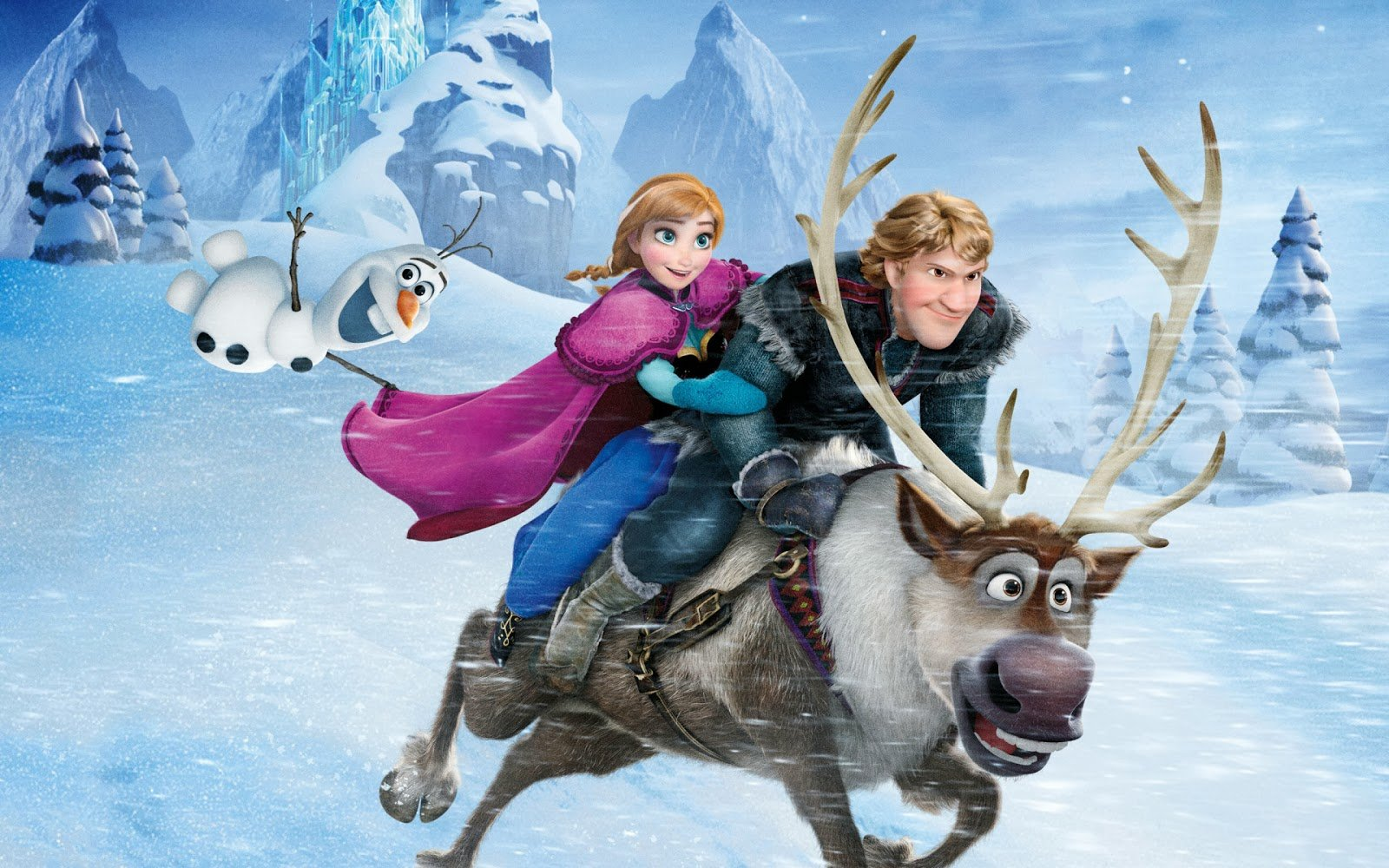 Walt Disney Frozen Movie Wallpaper HiresMOVIEWALLcom 1600x1000