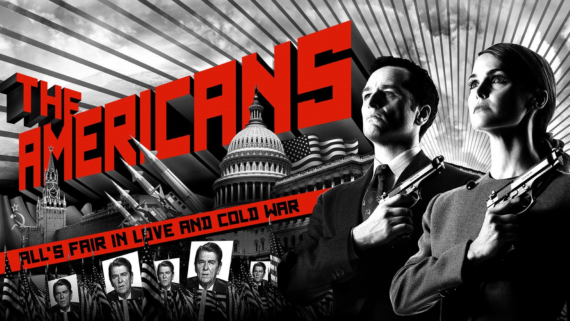 The Americans TV Series Desktop Backgrounds 1920x1080