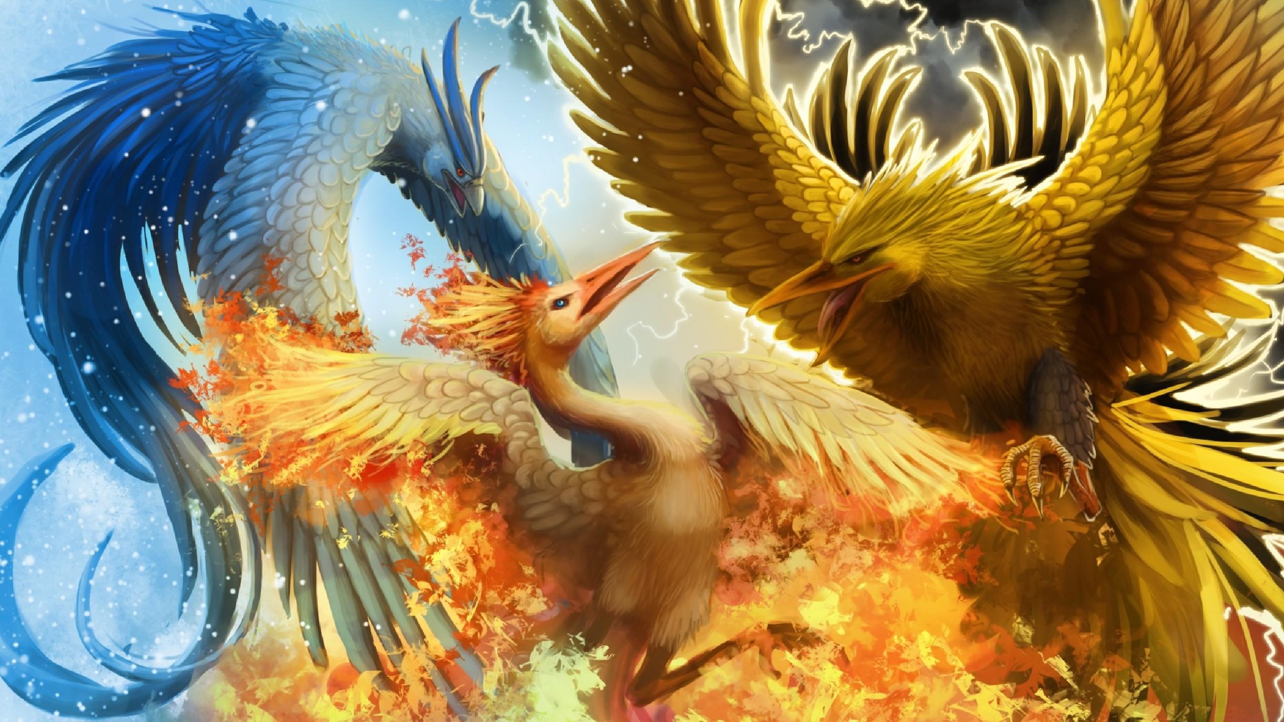 71 Legendary Pokemon Wallpapers on WallpaperPlay 2560x1440