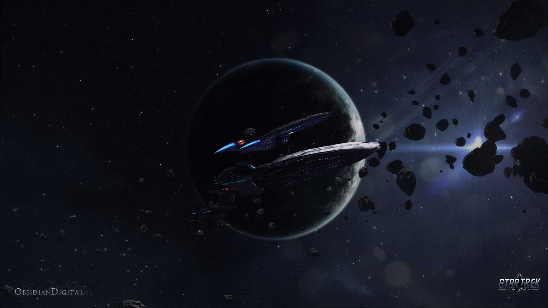 Star Trek Online   Kumari Escort Wallpaper 1080P by 1920x1080