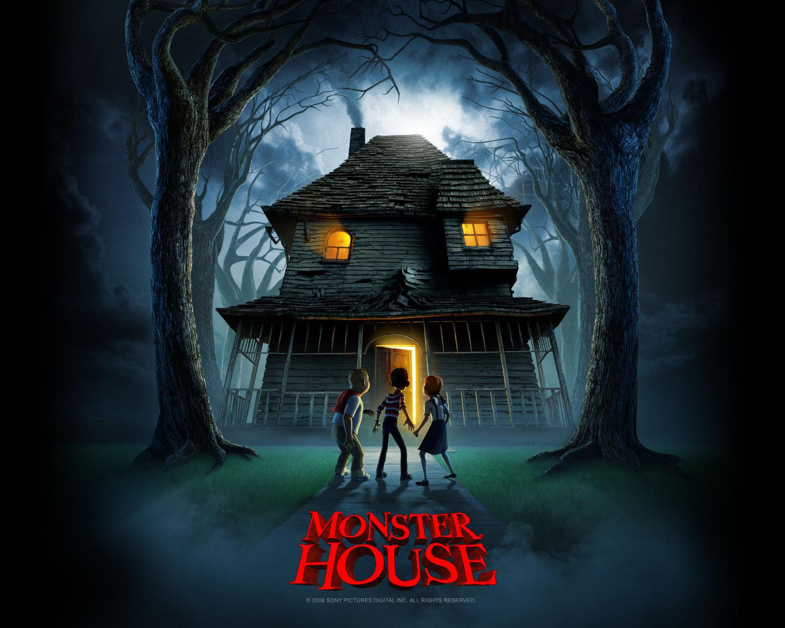 Monster House Movie Wallpaper   Monster House Wallpaper 26514290 1600x1280