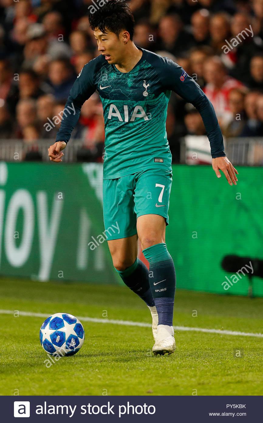Son Heung Min Tottenham Hotspur Stock Photos Son Heung Min 866x1390