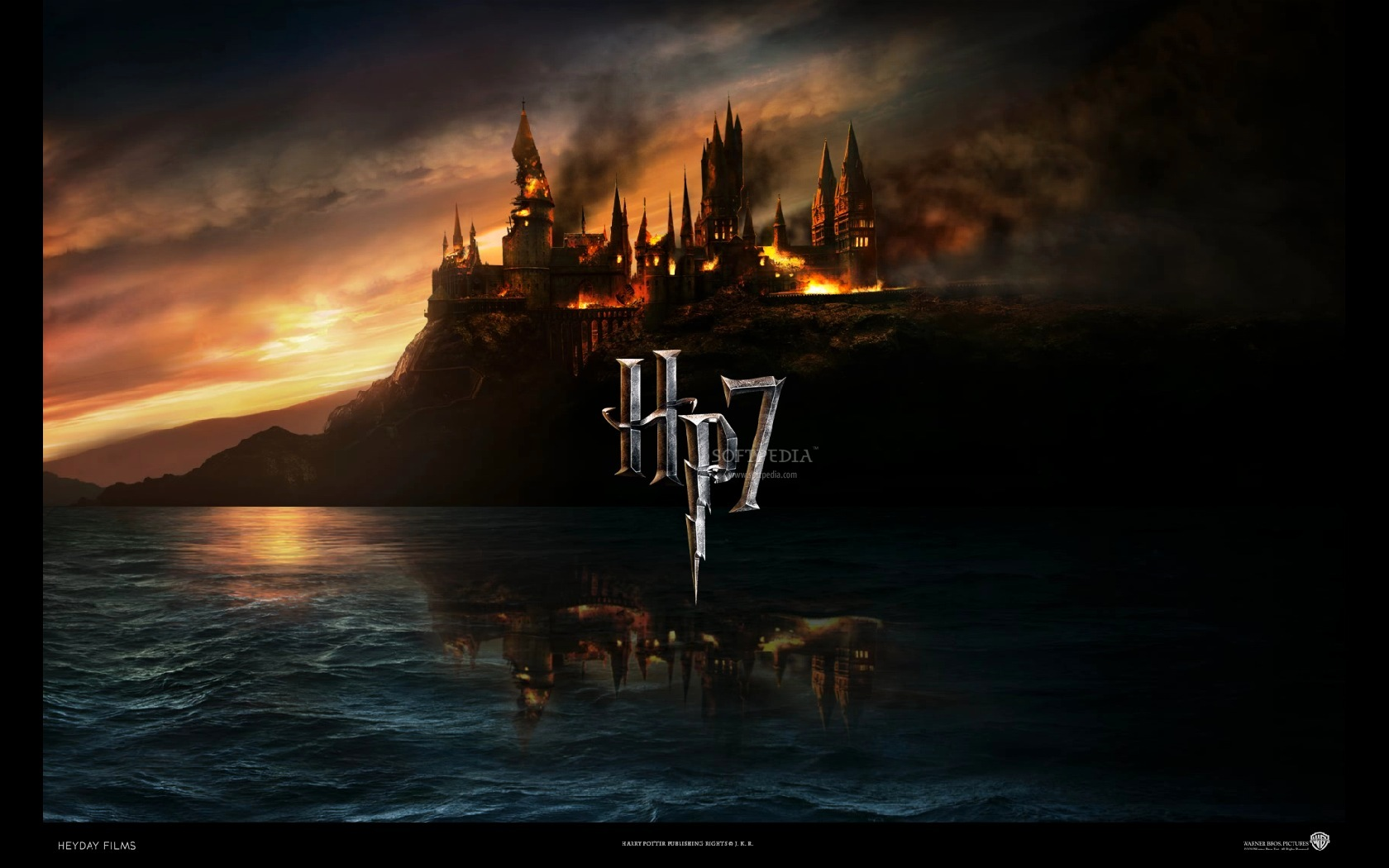 Harry Potter and the Deathly Hallows   The screensaver in fullscreen 1680x1050