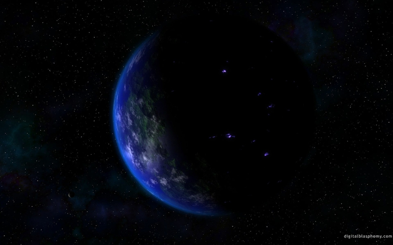 Blue Cool Blue Planet Space Planets HD Desktop Wallpaper 800x500